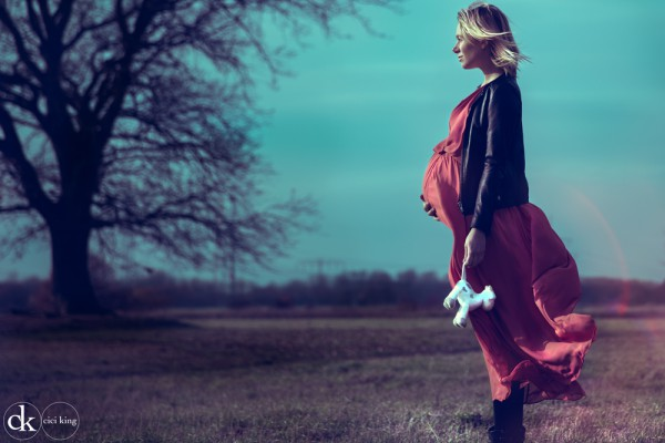 Schwangerschaftsfotografie - Cici King - Cindy König